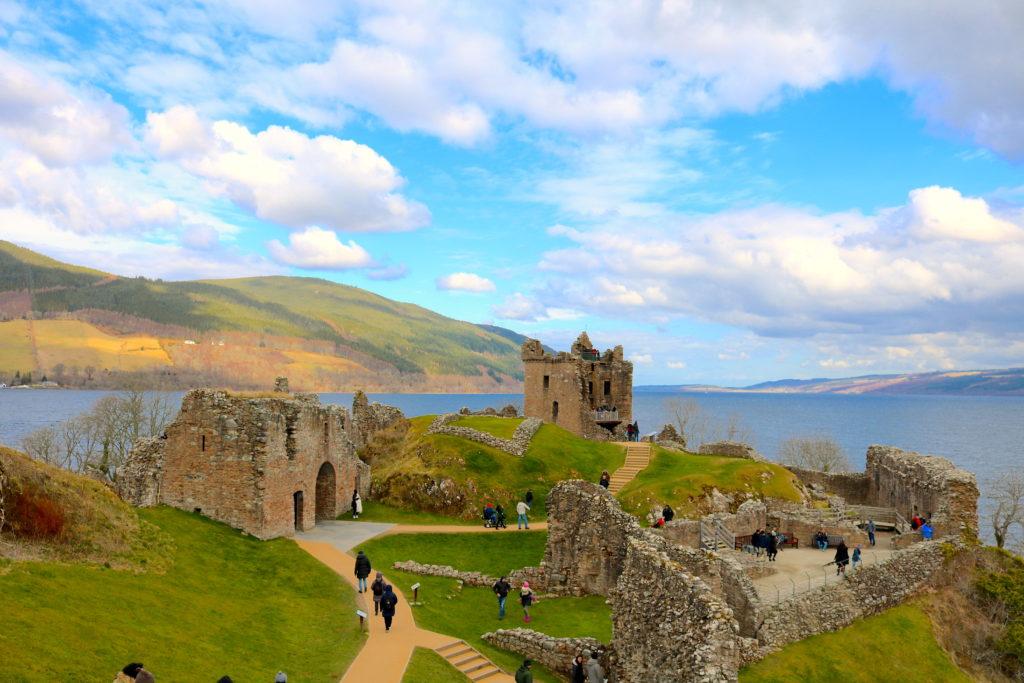 Castle Scotland Urquhart Great Glen Family Travel