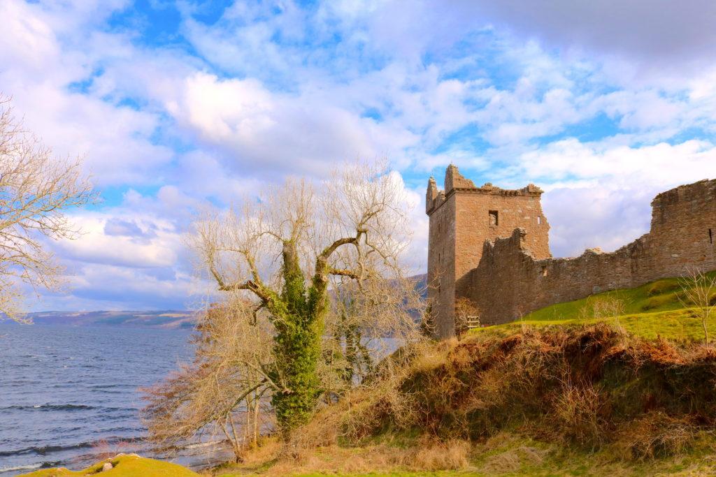 Urquhart Castle Scotland Family Travel