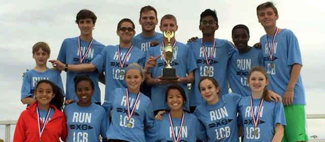 L.C. Bird XC team  finishes on top