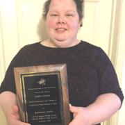 Ewalt earns statewide award
