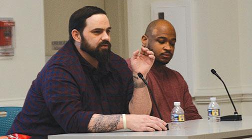 Community talks about criminal justice reform
