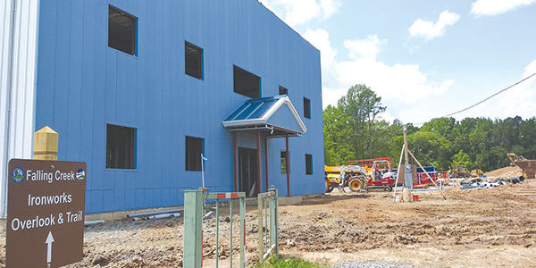 Trucking terminal going up on Station Road