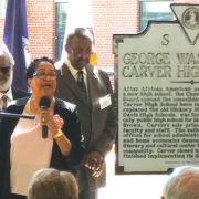Carver High gets historical marker