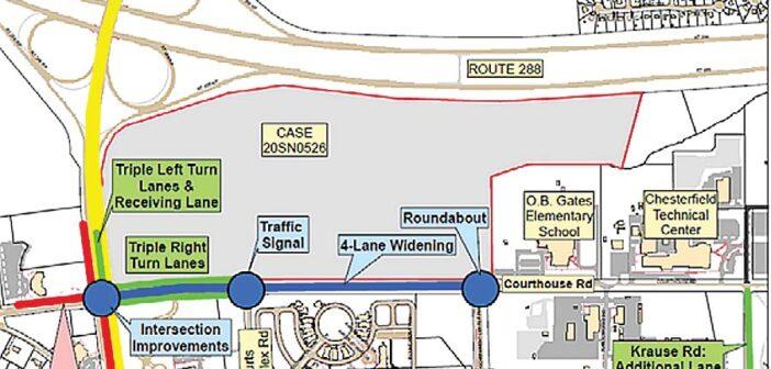 Courthouse Landing traffic improvements