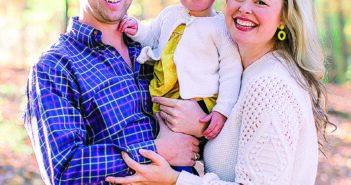 Lauren Spain and family.