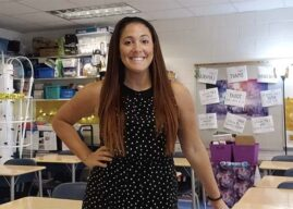 For Bellwood teacher; it's all about encouragement