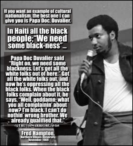 fred hampton haiti quote