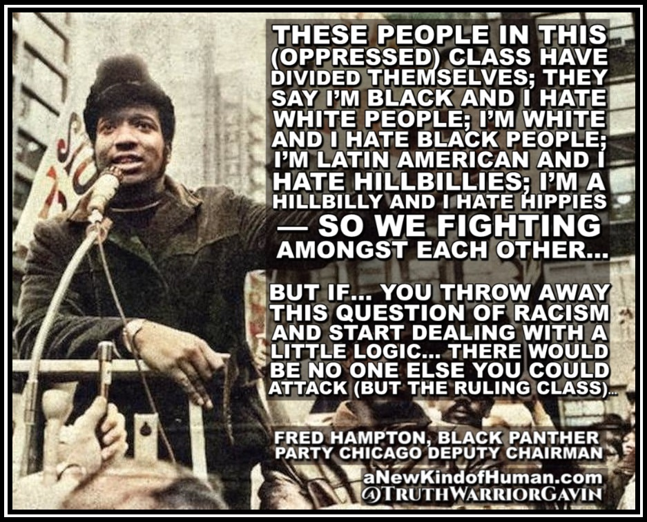 fred hampton divide and conquer quote
