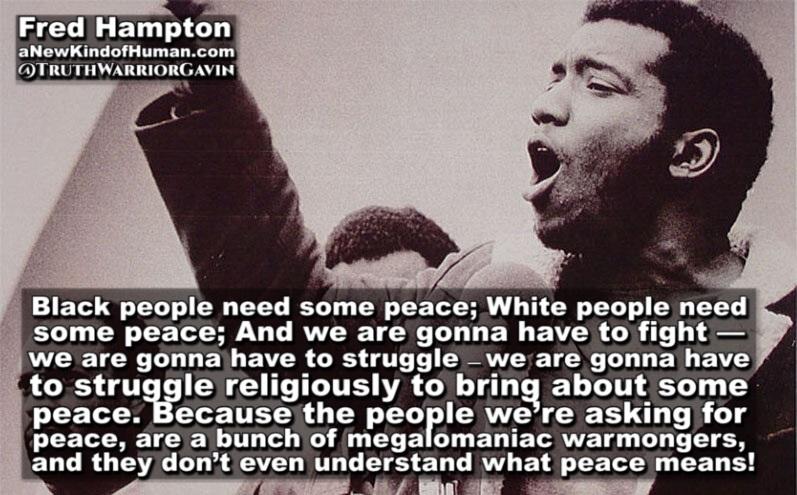 fred hampton quote black people