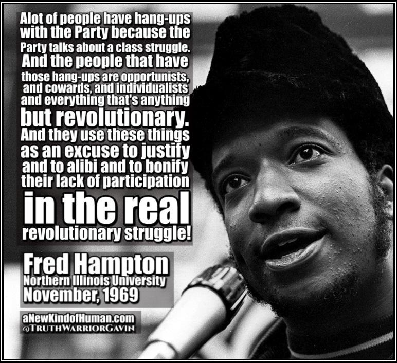 fred hampton class struggle quote