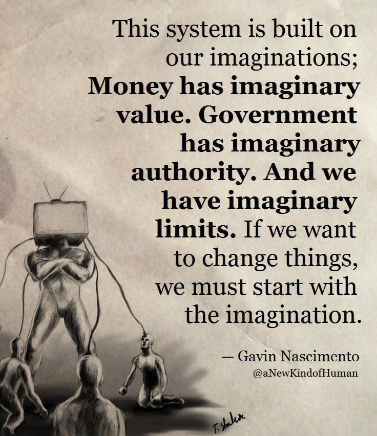 gavin nascimento imagination quote