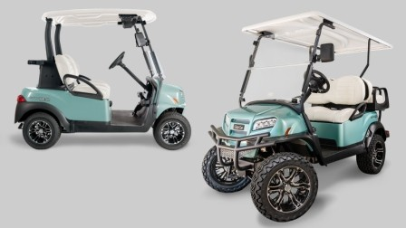 new special edition golf cart for club car