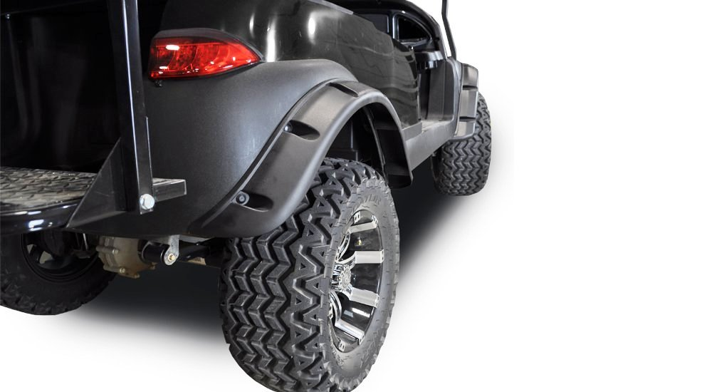 We stock and sell Golf cart fender flares