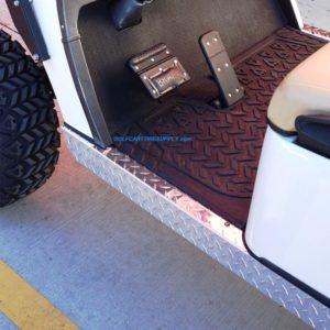 Golf Cart Rocker Panels, Kick Plates & Shock Covers