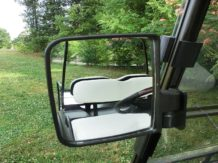 Golf cart mirrors