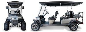 Club car new 2019 six passenger golf carts