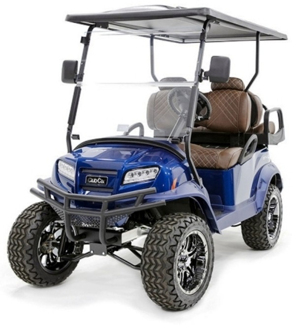 Blue storm surge limited edition golf cart