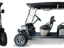 Six passenger golf carts