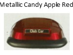 Metallic Candy Apple Red