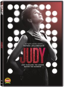 DVD cover for Judy.