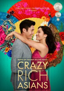 DVD Cover for Crazy Rich Asians.