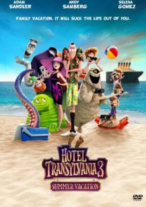 Hotel Transylvania 3 DVD cover.
