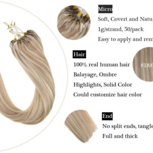 MICRO RING & CLIP HAIR EXTENSION