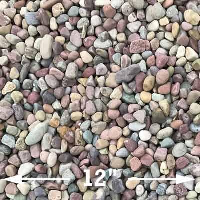 Small rainbow rocks