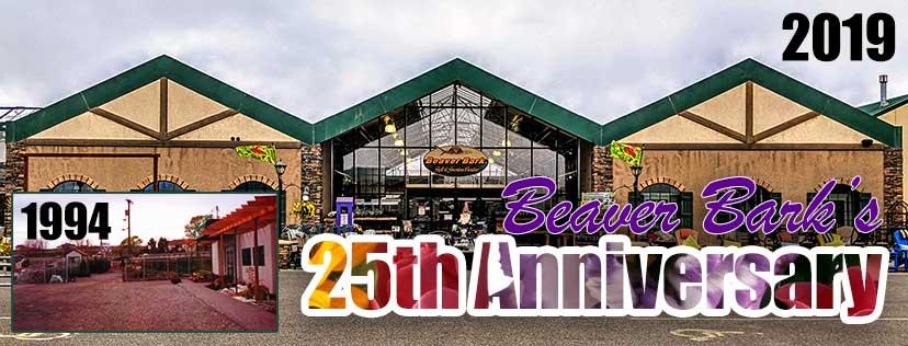 Beaver Bark's 25th Anniversary