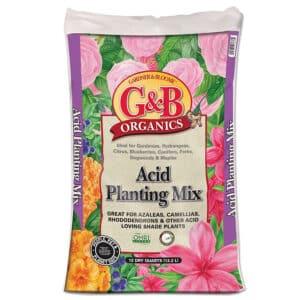 G&B Organics Acid Planting Mix