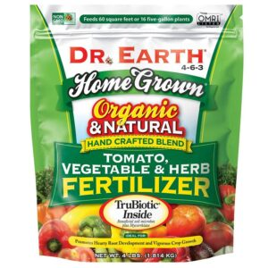 Dr. Earth Home Grown Organic Tomato, Vegetable & Herb Fertilizer