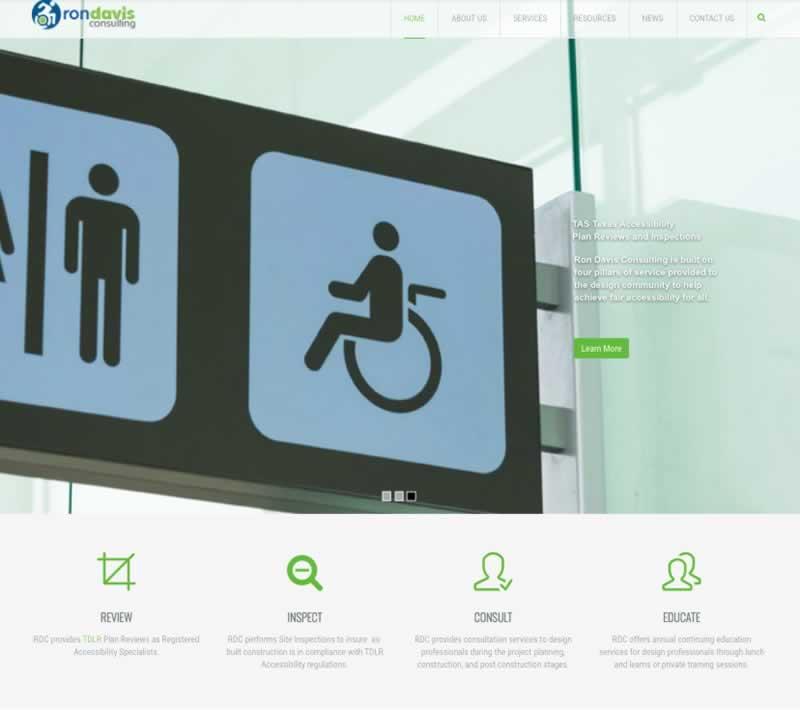 Ron Davis Consulting Website Redesign