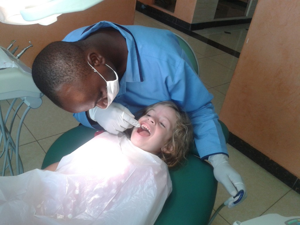 04-dental visits for the whole family...that went well!