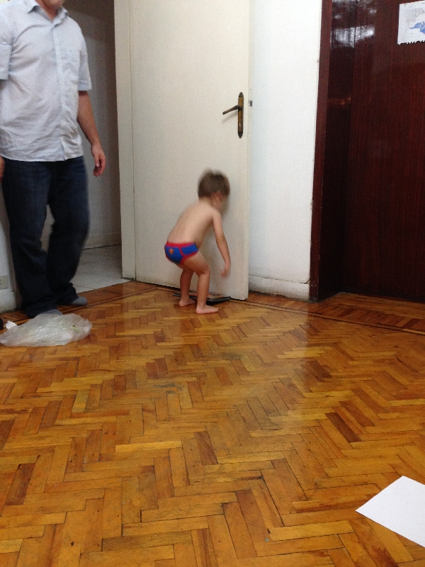 07.06 - so there is a big boy in our house who can *almost* get dressed by himself