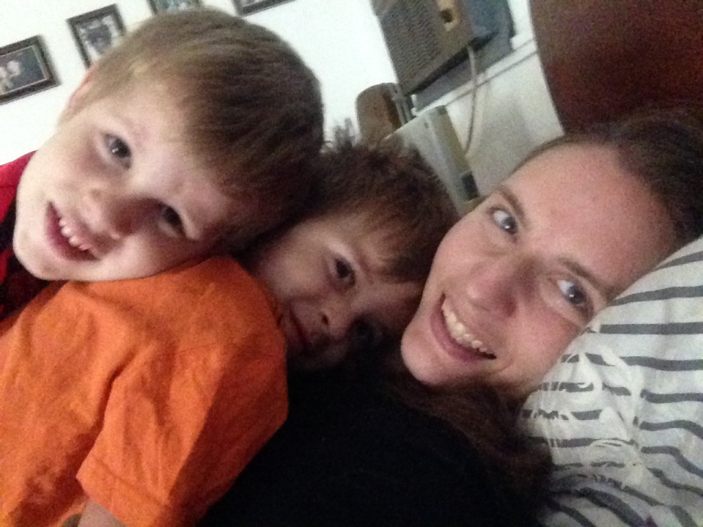 12.20-snuggles with my boys