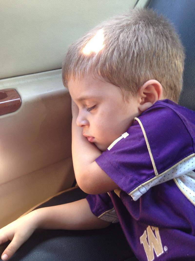 10.13- falling asleep in the taxi