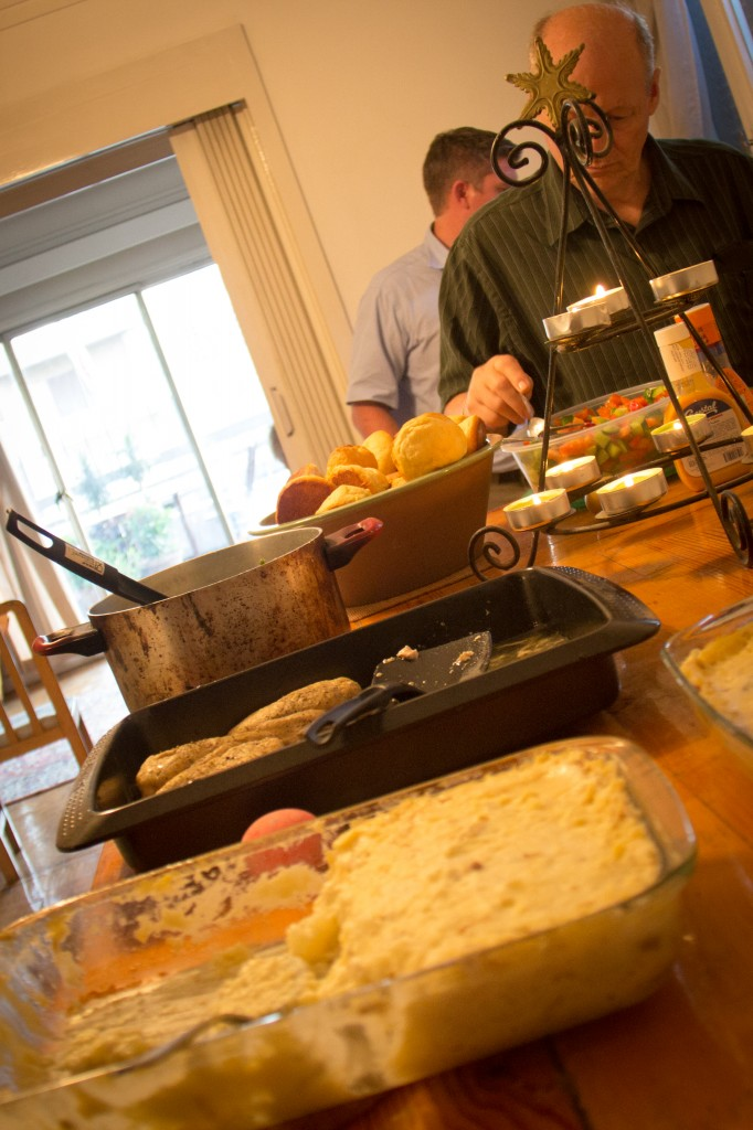 We enjoyed a wonderful Easter feast for 12 folks (of course half were our family).
