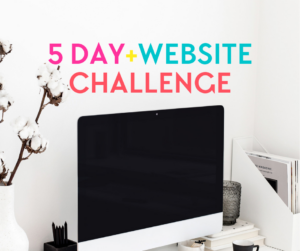 5 day website challenge