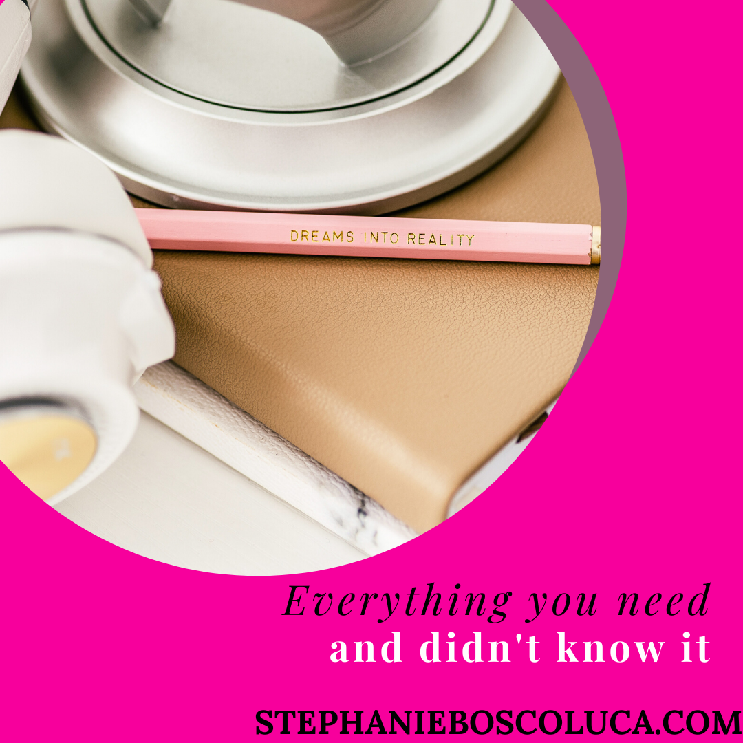 everything you need and didnt know it