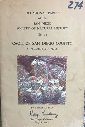 Cacti of San Diego County