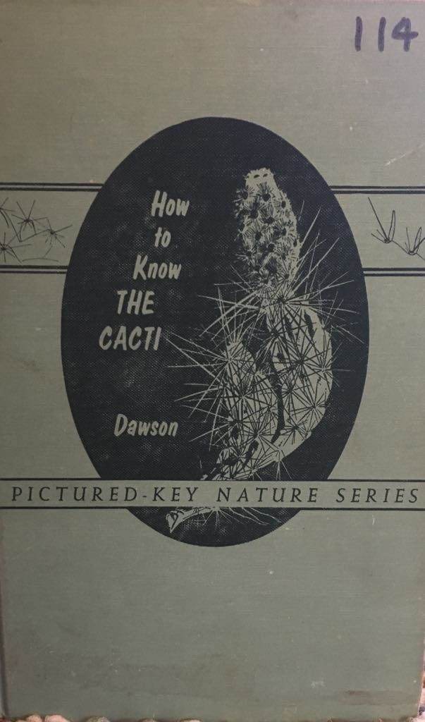 How to Know the Cacti