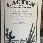 CSSA Journal 50-year Index