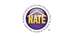 Denver Heating & Cooling Nate Logo