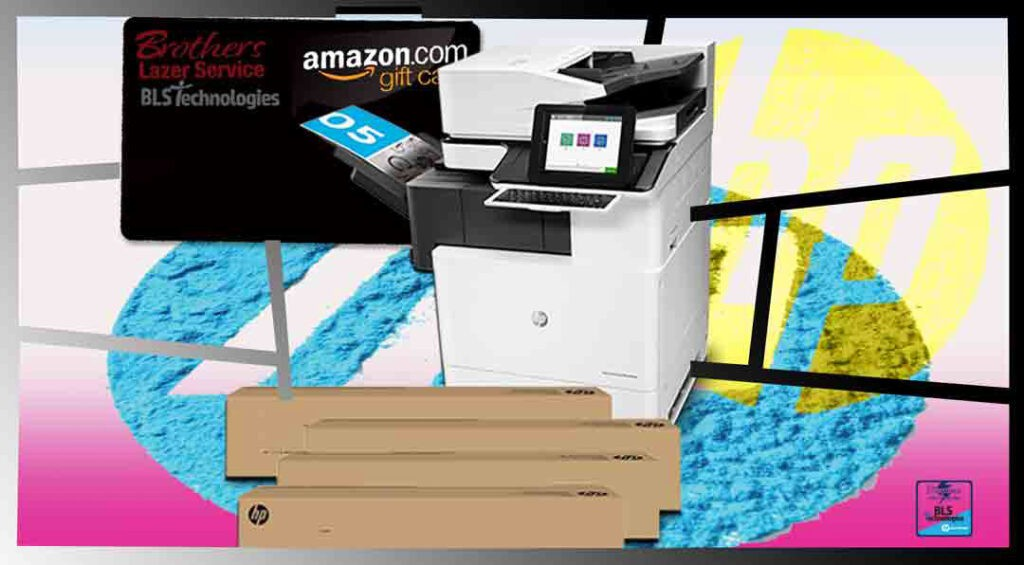 Receive a $10.00 Amazon eGift card by simply letting us quote your business on TONER or INK supplies. Hp Gold Partner