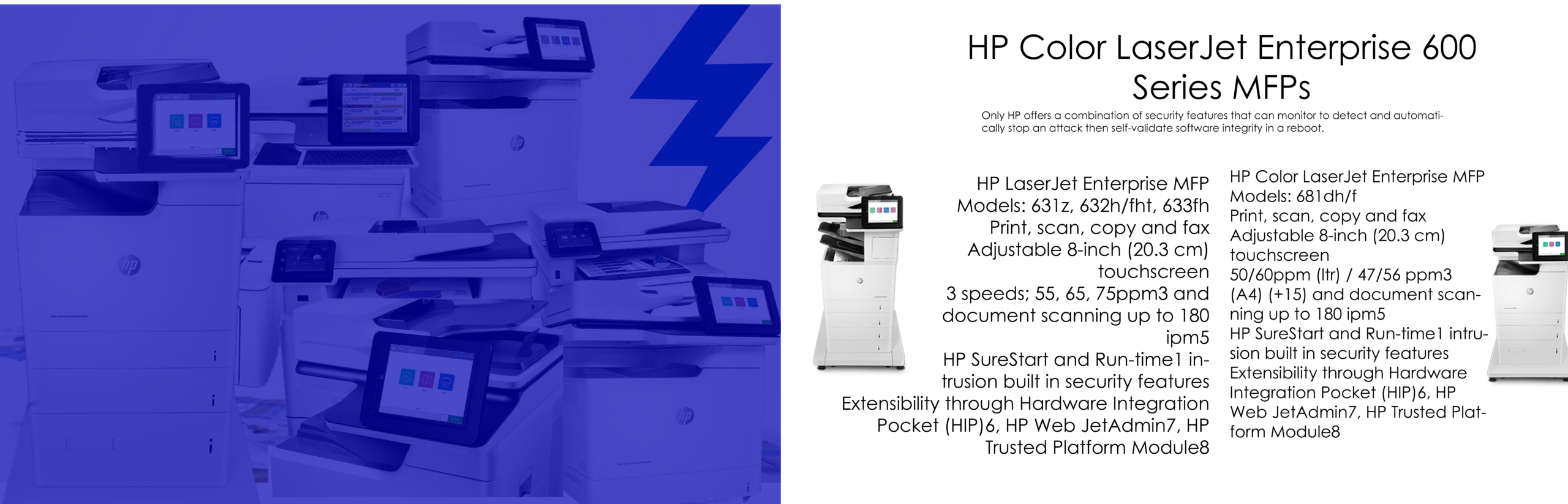 hp-lazerjet-600-series-mfp-HP Printing equipment and supplies in uniontown, pa