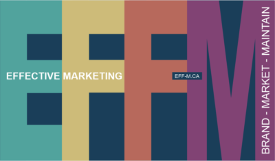 Effective Marketing | Branding - Marketing - Maintenance