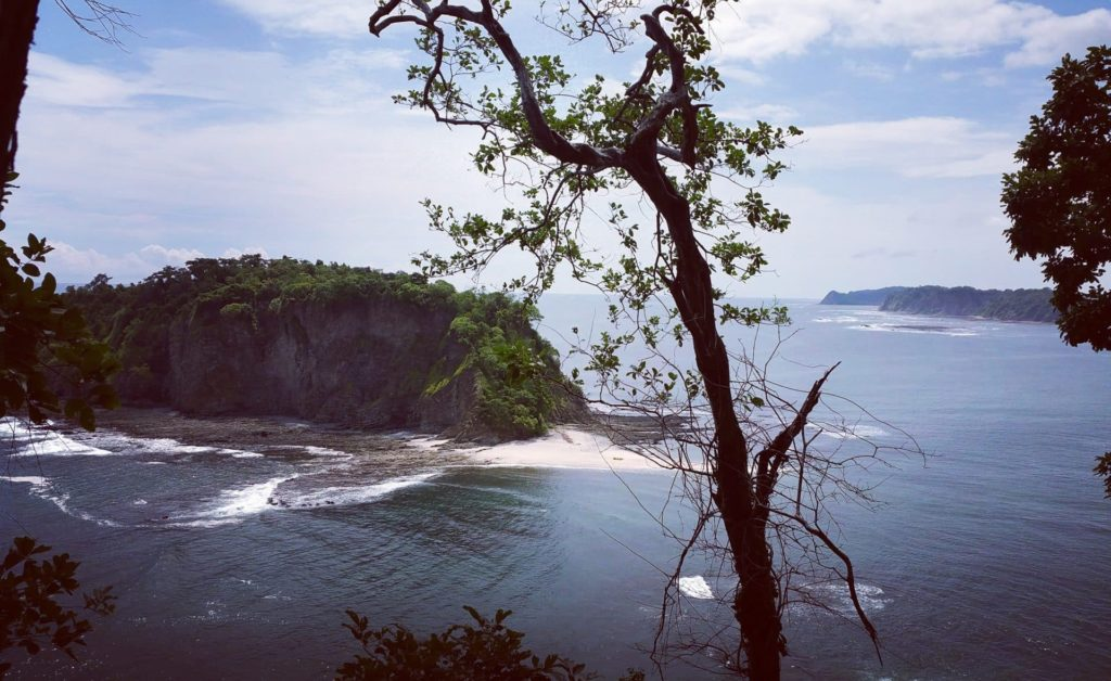 Isla Chora, Costa Rica. Awesome hike to this amazing view.
