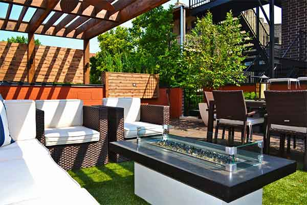 Roof Garden Design | Landscaping & Hardscaping Services