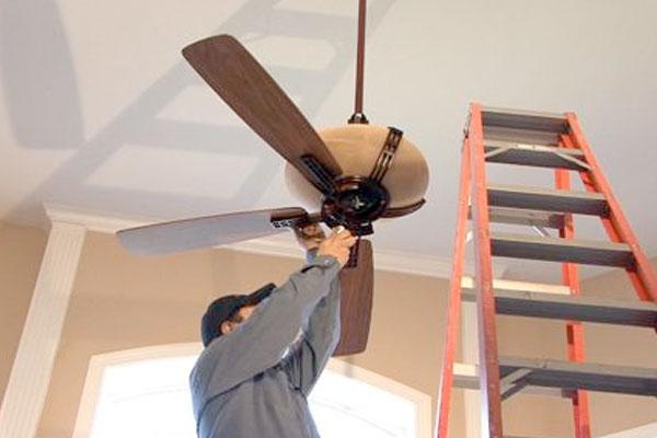 Ceiling Fan Install | Handyman Projects