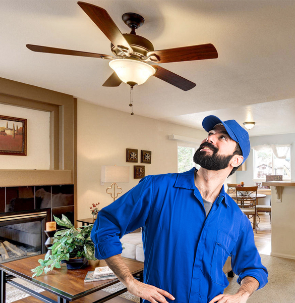 Respectable Pros   Ceiling Fan Installation in Chicago IL